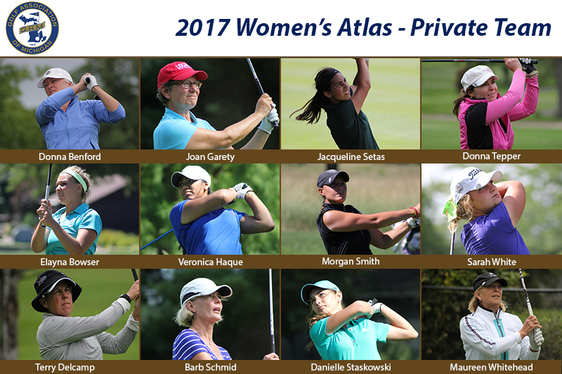 Teams Announced for Women's Atlas Trophy Matches