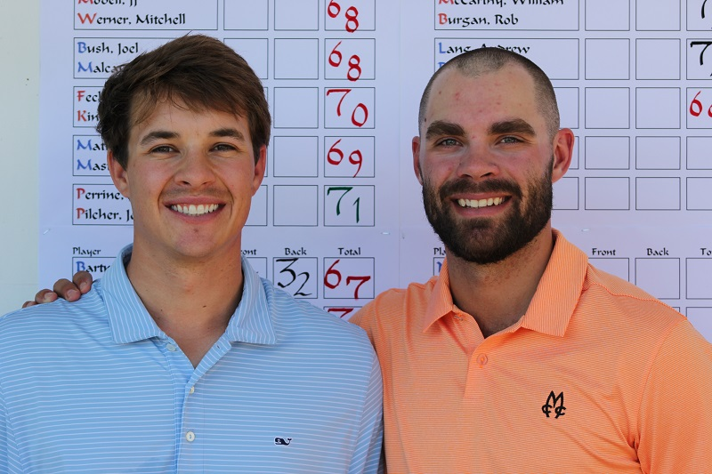 Former MSU Teammates Dan Ellis and Jimmy Dewling Win GAM Four-Ball Championship